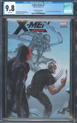 Picture of X-MEN PRIME (2017) #1 CGC 9.8 NM/MT DELL'OTTO VARIANT COVER WP