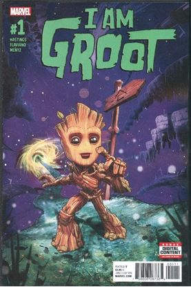 Picture of I AM GROOT #1