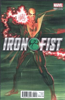 Picture of IRON FIST #1 (2017) ROSS VAR