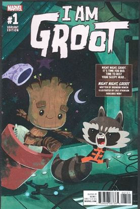 Picture of I AM GROOT #1 1:10 NIGHT NIGHT GROOT VAR