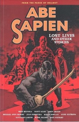 Picture of ABE SAPIEN TPB VOL 09 LOST LIVES & OTHER STORIES