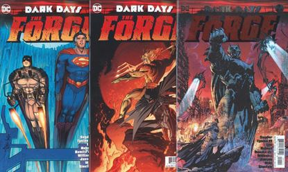 Picture of DARK DAYS THE FORGE #1 COVER SET