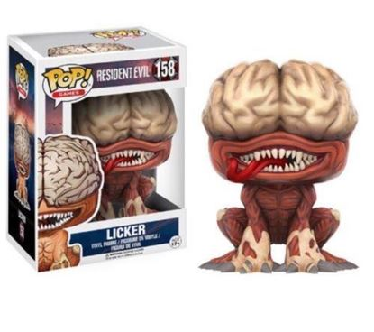 Picture of FUNKO POP GAMES RESIDENT EVIL LICKER #158 VINYL FIGURE NEW