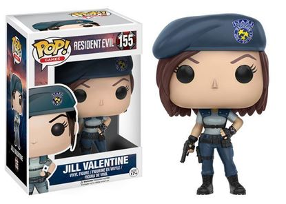 Picture of FUNKO POP GAMES RESIDENT EVIL JILL VALENTINE #155 VINYL FIGURE NEW