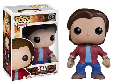 Picture of FUNKO POP TELEVISION SUPERNATURAL JOIN THE HUNT SAM #93 NEW VINYL FIGURE