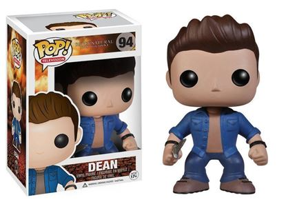 Picture of FUNKO POP TELEVISION SUPERNATURAL JOIN THE HUNT DEAN #94 NEW VINYL FIGURE