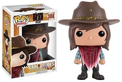 Picture of FUNKO POP TELEVISION THE WALKING DEAD AMC CARL GRIMES #388 NEW VINYL FIGURE