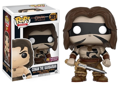 Picture of FUNKO POP CONAN THE BARBARIAN CONAN WAR PAINT #381 NEW PX EXCLUSIVE VINYL FIGURE