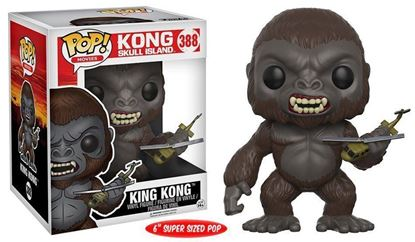 "Picture of FUNKO POP MOVIES KONG SKULL ISLAND KING KONG #388 6"" NEW VINYL FIGURE"