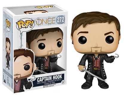 Picture of FUNKO POP TV ONCE UPON A TIME CAPTAIN HOOK W/ SWORD #272 NEW VINYL FIGURE