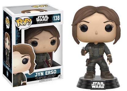 Picture of FUNKO POP STAR WARS ROGUE ONE JYN ERSO #138 NEW VINYL FIGURE