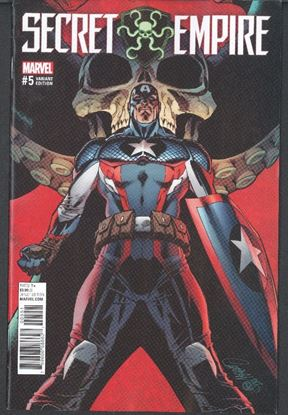 Picture of SECRET EMPIRE #5 (OF 10) JS CAMPBELL VAR VF/NM