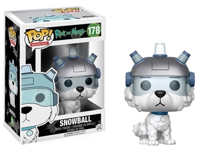 Picture of FUNKO POP ANIMATION RICK & MORTY SNOWBALL #178 NEW VINYL FIG