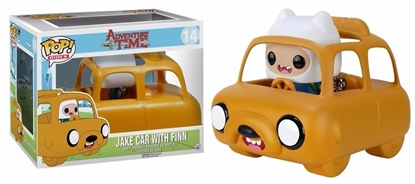 Picture of FUNKO POP RIDES ADVENTURE TIME JAKE CAR WITH FINN NEW VINYL FIGURE