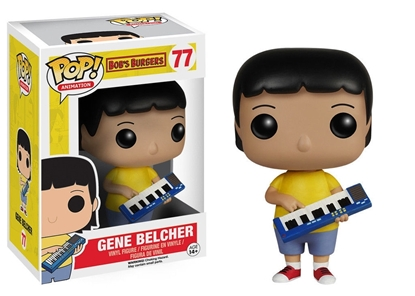 Picture of FUNKO POP ANIMATION BOB'S BURGER'S GENE BELCHER #77 NEW VINYL FIGURE
