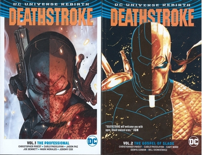 Picture of DEATHSTROKE REBIRTH TPB SET