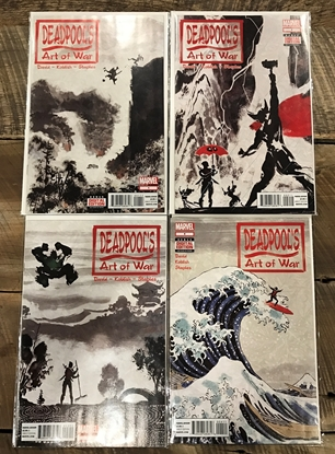 Picture of DEADPOOL'S ART OF WAR #1 2 3 4 NM