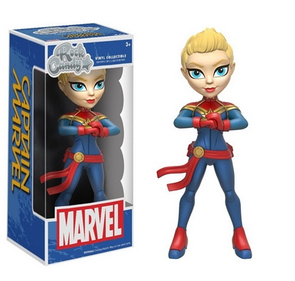 Picture of FUNKO ROCK CANDY CAPTAIN MARVEL NEW VINYL COLLECTIBLE