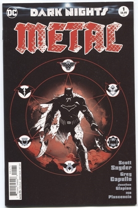 Picture of DARK NIGHTS METAL #1 (OF 6) B&W MIDNIGHT RELEASE VAR B