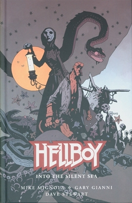 Picture of HELLBOY INTO THE SILENT SEA HC