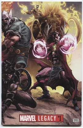 Picture of MARVEL LEGACY #1 DEODATO WRAPAROUND VAR