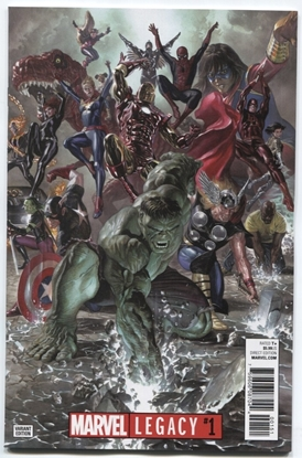 Picture of MARVEL LEGACY #1 ALEX ROSS VAR