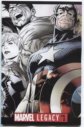 Picture of MARVEL LEGACY #1 QUESADA PREM VAR