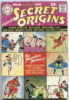 Picture of SECRET ORIGINS (1961) #1 4.0 VG