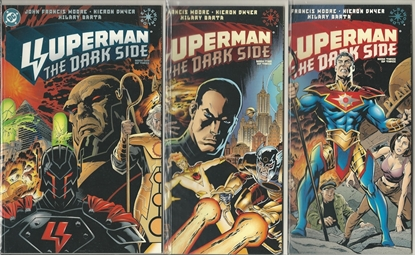 Picture of SUPERMAN THE DARK SIDE #1-3 1ST PRINT SET