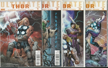 Picture of ULTIMATE THOR (2009) #1 2 3 4 SET HICKMAN PACHECO