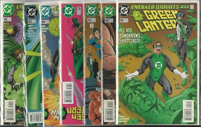 Picture of GREEN LANTERN #101-106 EMERALD KNIGHTS SET NM