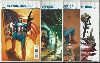 Picture of ULTIMATE CAPTAIN AMERICA #1 2 3 4 COMPLETE SET NM