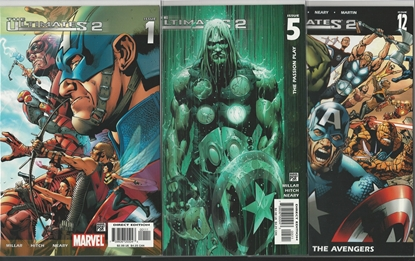 Picture of ULTIMATES VOL 2 #1-13 AN 1-2 NM SET MILLAR HITCH