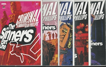 Picture of CRIMINAL THE SINNERS #1 2 3 4 5 SET PHILLIPS/BRUBAKER