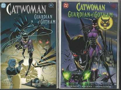 Picture of CATWOMAN GUARDIAN OF GOTHAM #1 & 2 ELSEWORLDS GN SET NM