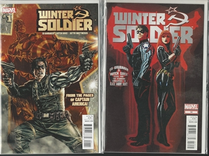 Picture of WINTER SOLDIER (2012) #1-14 COMPLETE SET BRUBAKER/GUICE NM