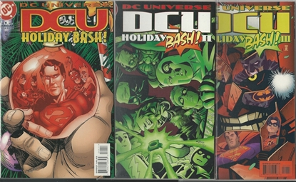 Picture of DCU HOLIDAY BASH #1 2 3 SPECIAL NM SET JLA JOKER BATMAN