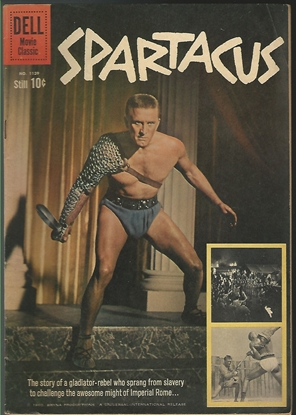 Picture of DELL FOUR COLOR #1139 SPARTACUS MOVIE COMIC