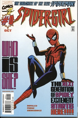 Picture of SPIDER-GIRL (1998) #0 VF/NM