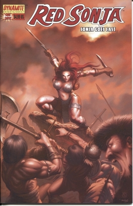 Picture of RED SONJA GOES EAST ONE SHOT COVER A ALVIN LEE 9.4 NM