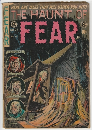 Picture of THE HAUNT OF FEAR #27 1.0 FAIR GHASTLY COVER