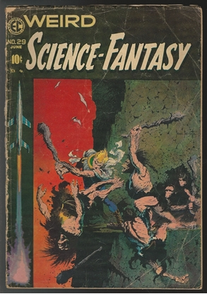 Picture of WEIRD SCIENCE FANTASY #29 2.0 GOOD FRAZETTA COVER