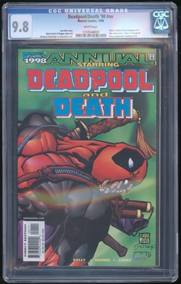 Picture of DEADPOOL AND DEATH ANNUAL (1997) CGC 9.8 NM/MT (1111)