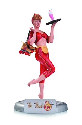 Picture of DC BOMBSHELLS THE FLASH JESSE QUICK STATUE