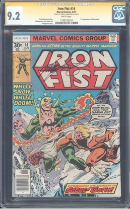 Picture of IRON FIST (1976) #14 CGC 9.2 NM- WP (92)