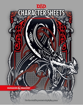 Picture of D&D 5E CHARACTER SHEETS DELUXE