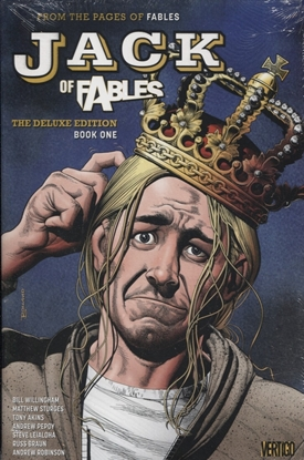 Picture of JACK OF FABLES DELUXE HC BOOK 1 (MR)