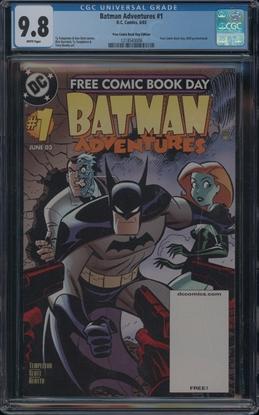 Picture of BATMAN ADVENTURES #1 CGC 9.8 NM/MT FREE COMIC BOOK EDITION