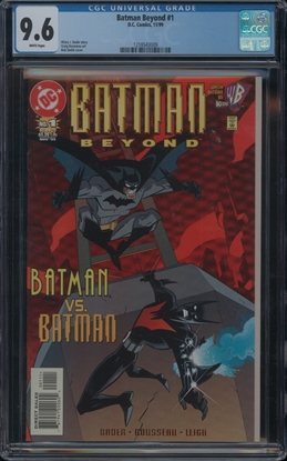 Picture of BATMAN BEYOND #1 CGC 9.6 NM+ WP