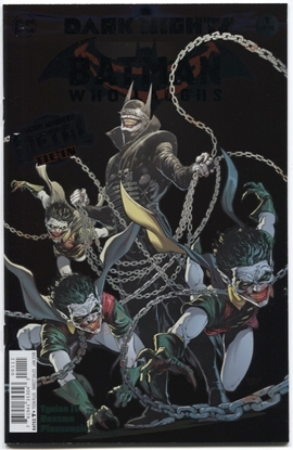 Picture of BATMAN WHO LAUGHS #1 (METAL)
